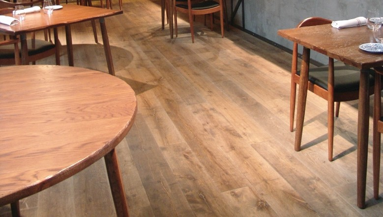 parquet contre colle lamett farm antique